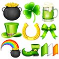 Saint Patrick's Day Object Royalty Free Stock Images