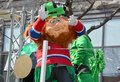 Saint patrick s day parade montreal canada march participant at the annual on march in montreal canada montreal st Stock Photos