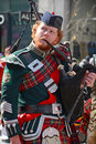 Saint patrick s day parade montreal canada march participant at the annual on march in montreal canada montreal st Royalty Free Stock Image