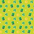 Saint Patricks Day Pattern Background Royalty Free Stock Photo