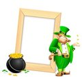 Saint Patrick's Day Photo Frame Royalty Free Stock Images