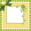 Saint Patrick's Day Postcard Stock Photography