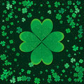 Saint Patrick's Day retro background. Vector design greetings card or poster.