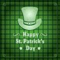 Saint Patrick's Day Retro Background