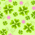 Saint Patrick's Day seamless pattern Royalty Free Stock Image