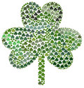 Saint Patrick's Day Shamrocks Stock Image