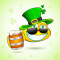 Saint Patrick Smiley Stock Photography