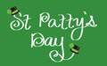 Saint patricks day happy holiday Royalty Free Stock Image