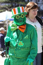 Saint Patricks Day Parade, New York City Royalty Free Stock Photo