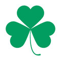 Saint Patricks Day symbol, shamrock leaf