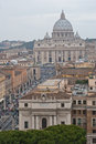 Saint Peter Basilica in Vatican Stock Image