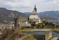 Saint Peter Church of Friesach Royalty Free Stock Photo