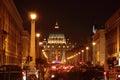 Saint Peter Dome at Night