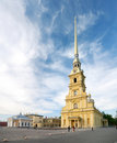 Saint peter and paul cathedral (st petersburg) Stock Photography