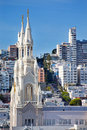 Saint Peter Paul Catholic Church San Francisco Royalty Free Stock Photo