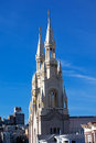 Saint Peter Paul Catholic Church San Francisco Royalty Free Stock Image