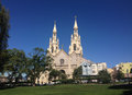 Saint peter and paul church san francisco Royalty Free Stock Photo