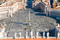 Saint Peter's Square, Vatican, Rome, Italy Royalty Free Stock Photo