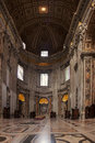 Saint peters in rome image taken inside church the vatican italy Stock Photos