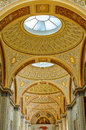 Saint petersburg russia interior of hermitage the museum art and culture in saint petersburg Stock Image