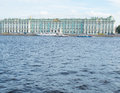 Saint Petersburg, Russia September 09, 2016 View of the Winter Palace in St. Petersburg, Russia. Royalty Free Stock Photo