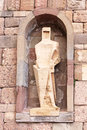 Saint ramon llull statue montserrat spain by joseph maria subirachs monestir monastery of barcelona catalonia founded in t th Stock Photos