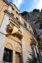 Saint Rosalia sanctuary of Palermo in Sicily Royalty Free Stock Image