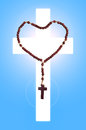 Saint rosary the is a roman catholic sacramental and marian devotion to prayer and the commemoration of jesus and events of his Stock Photo