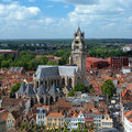 Saint Salvator Cathedral in Bruges, Belgium Stock Photography