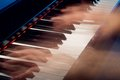 Saint saëns le cygne recording of the first segment of a piano song Royalty Free Stock Image