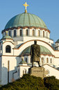 Saint Sava Cathedral Royalty Free Stock Photos