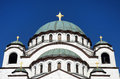 Saint Sava Church, Belgrad, Serbia Royalty Free Stock Photo