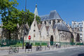 Saint Severin Church Paris Royalty Free Stock Photography