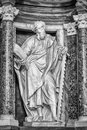 Saint simon statue of st at the basilica of st john lateran in rome please look at my images of the other saints from this church Stock Photos