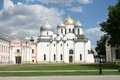 Saint Sophia cathedral in Great Novgorod Royalty Free Stock Photo