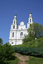 Saint sophia cathedral in polotsk Royalty Free Stock Image