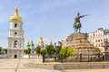 Saint Sophia Church in Kiev Royalty Free Stock Photo