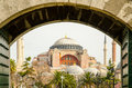 Saint Sophia in Constantinople Royalty Free Stock Photo