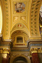 Roman catholic church. Saint Stephen Basilica - landmark attraction in Budapest, Hungary Royalty Free Stock Photo