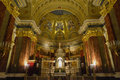 Saint stephen s basilica budapest hungary november interior of the st a roman catholic in it is named in honor Stock Image