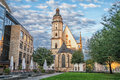 Saint Thomas Church in Leipzig Royalty Free Stock Photo