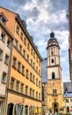 St. Thomas Church in Leipzig, Germany Royalty Free Stock Photo