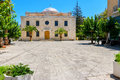 Saint titos church heraklion crete the of agios in the centre of greece Stock Photography