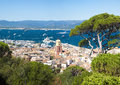 Saint Tropez city, France Royalty Free Stock Photo