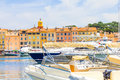 Saint tropez france port in Stock Photography