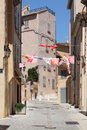 Saint tropez french riviera beautiful street in Royalty Free Stock Photos