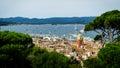 Saint Tropez panorama Royalty Free Stock Photo