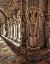 Saint Trophime Cloister Carvings Stock Photography