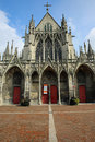 Saint urbain basilica the gothic thirteenth century in troyes france Royalty Free Stock Photos