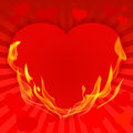 Saint-Valentin background-10 rouge Photos libres de droits